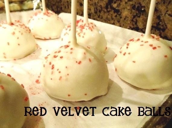 Celebrate Valentine's Day with Red Velvet Cake Balls