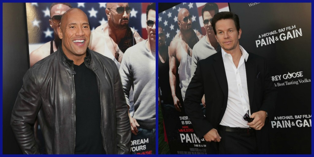Anthony Mackie is also showing us his guns in Pain and Gain. Ken Jeong ...