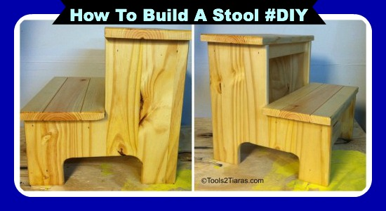 How To Make A Toddler Step Stool
