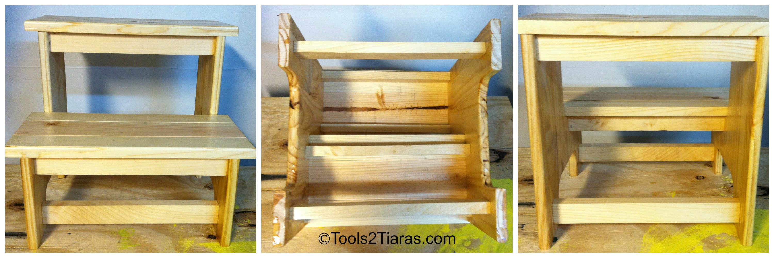 Diy Two Step Stool