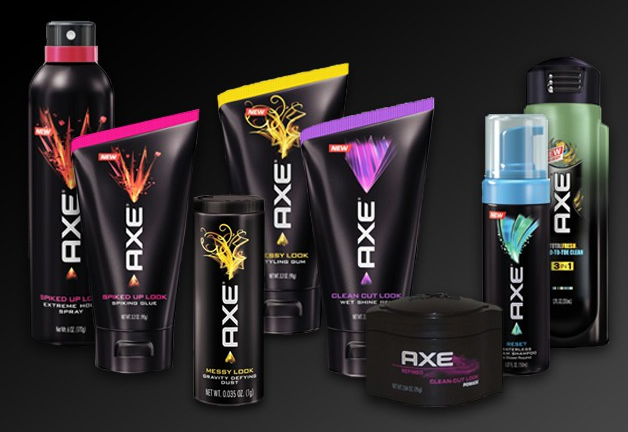 axe hair styling products get your on axe hair styling cravebox kit axemen 3992 | AXE